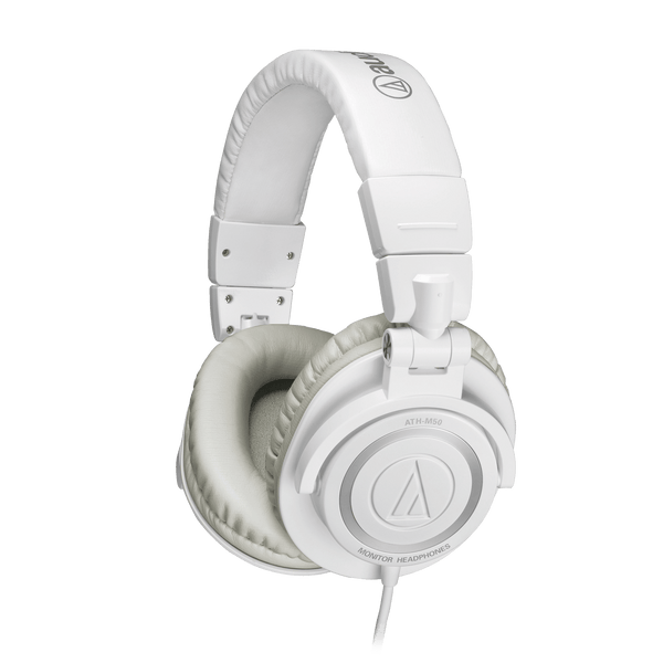 Audio-Technica ATH-M50x Monitor Headphones (White)