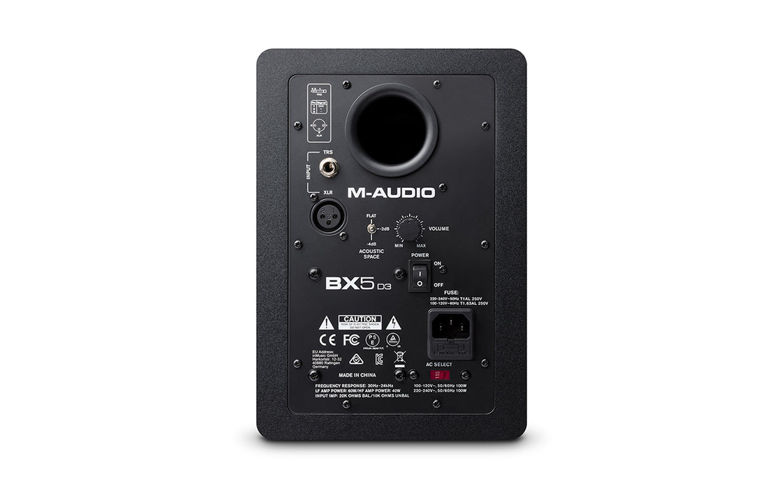M-Audio BX5-D3 Carbon Black Studio Monitor (Each)