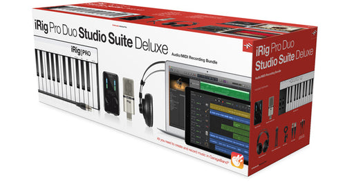 IK Multimedia iRig Pro Duo Studio Suite Deluxe