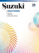 Suzuki Violin School, Volume 3 & CD