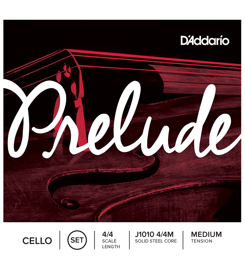 Daddario Prelude Cello String Set 4/4 Medium Tension