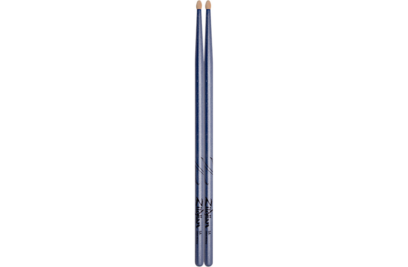 Zildjian Chroma Blue Drum Sticks Wood
