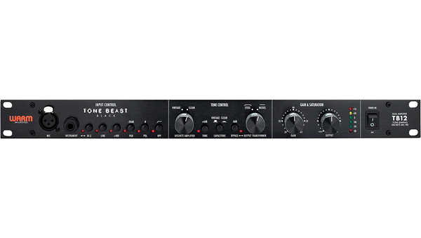 Warm Audio TB12 Black Tonebeast Microphone Preamp