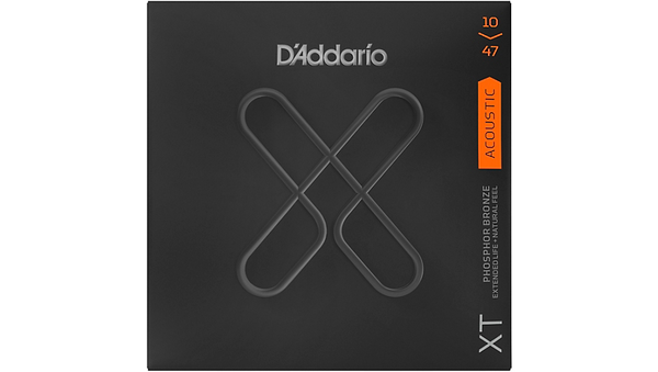 D'Addario XT Acoustic Strings, 10-47, Extra Light Phosphor Bronze