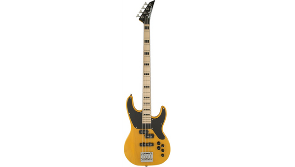 Jackson Concert Bass CBXNTM IV 4 String Electric Bass - Butterscotch