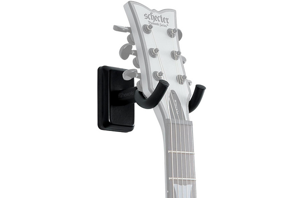 Gator Wall Mount Guitar Hanger Black
