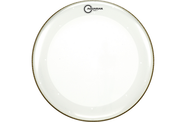Aquarian Force I Bass Drum Batter Head Clear 22 in.