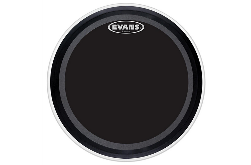 Evans EMAD Onyx Bass Batter Drumhead 22 in.