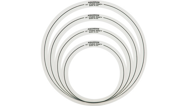 "Aquarian Studio Rings Set #2 - 10"",12"",14"",16"""