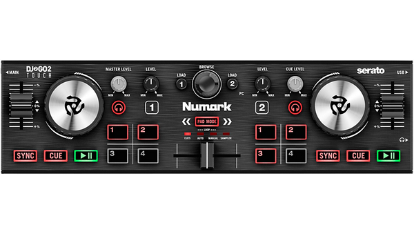 Numark DJ2GO2 Touch Pocket DJ Controller for Serato