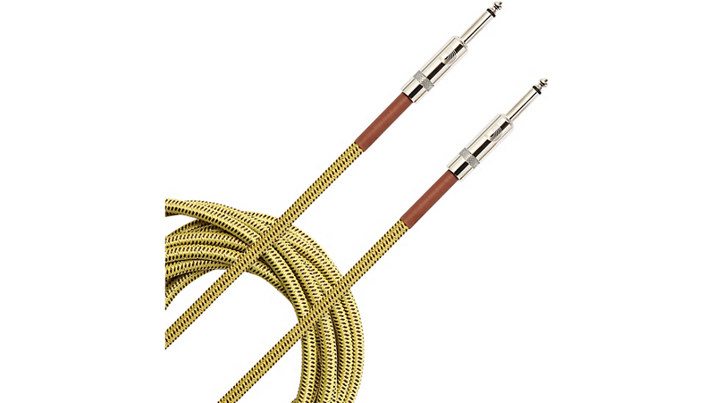 D'Addario Planet Waves Braided Instrument Cable 20 ft. Tweed