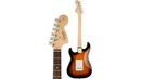 Squier Affinity Stratocaster Electric Guitar Brown Sunburst