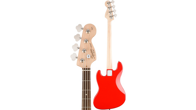 Squier Affinity Jazz Bass Race Red