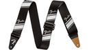 Fender Competition Stripe Guitar Strap Silver 2 in.