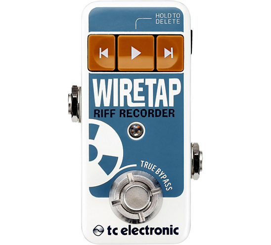 WireTap Riff Recorder Guitar Effect Pedal