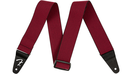 Fender Weighless Tweed Strap Red 2 in.