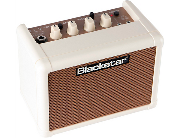 Blackstar Fly 3W Acoustic 3W 1x3 Acoustic Guitar Combo Amplifier Blonde and Tan