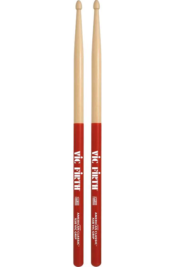 Vic Firth American Classic Extreme Drumsticks with Vic Grip 5B Wood