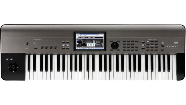 Korg KROME EX 61-Key Music Workstation Black