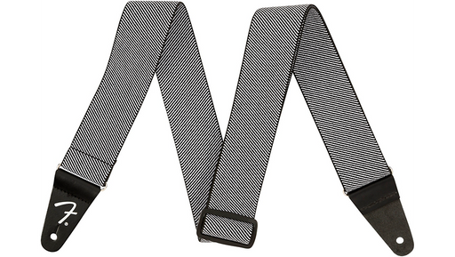 Fender Weighless Tweed Strap White 2 in.