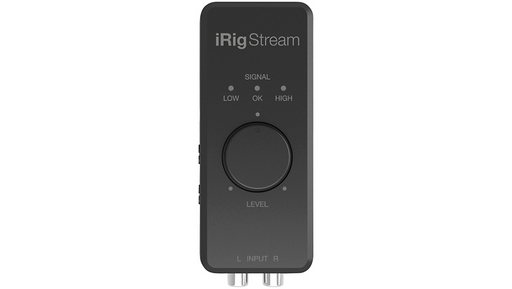 IK Multimedia iRig Stream iOS Audio Interfaces for iOS, Mac and Select Android Devices