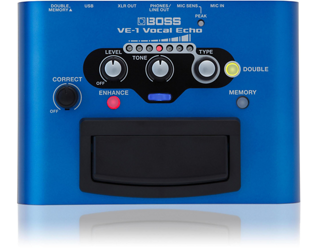 Boss VE-1 Vocal Echo Voice Effects Pedal (Open Box)