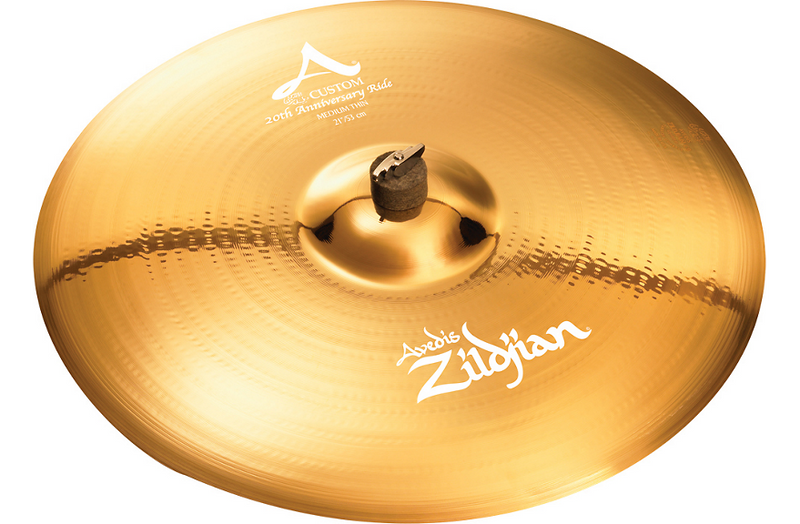 Zildjian A Custom 20th Anniversary Ride Cymbal 21 in.