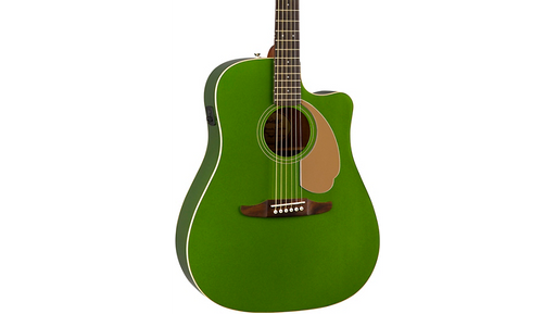 Fender California Redondo Player Acoustic-Electric Guitar Electric Jade