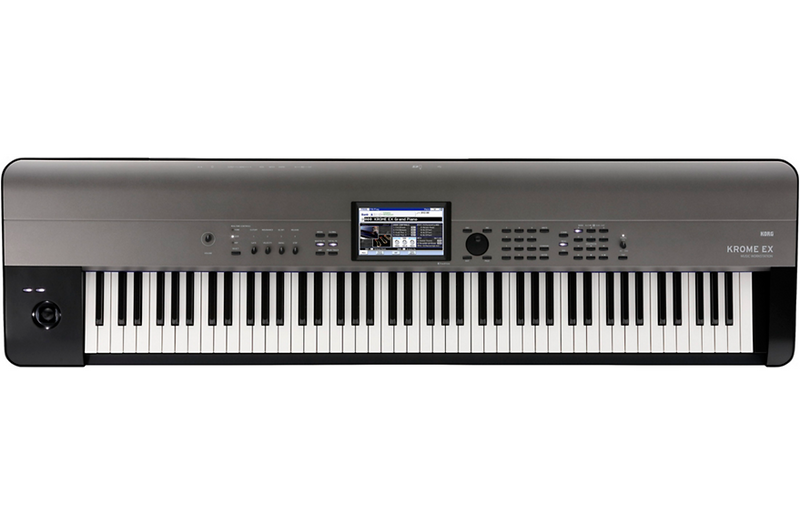 Korg KROME EX 88-Key Music Workstation Black