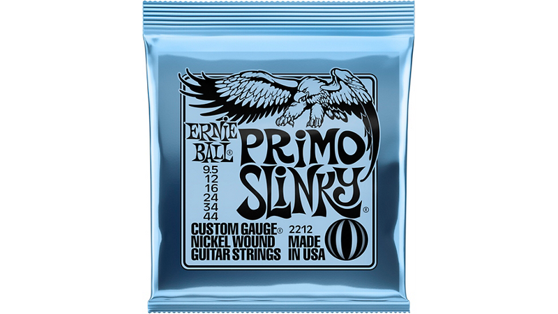 Ernie Ball Primo Slinky Nickel Wound Electric Guitar Strings Gauge 9.5 - 44