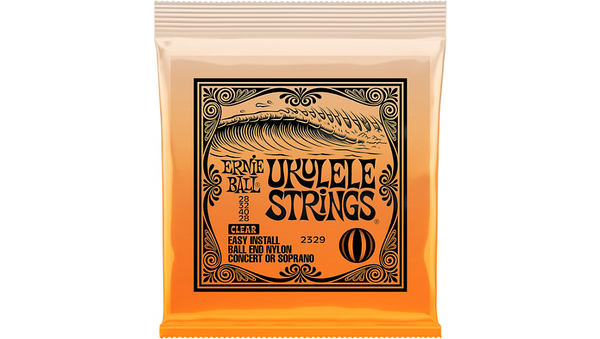 Ernie Ball Concert/Soprano Nylon Ball-End Ukulele Strings Soprano/Concert