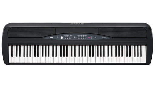 Korg SP-280 88-Key Digital Piano with Stand Black