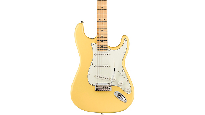 Fender Player Stratocaster Maple Fingerboard Electric Guitar Buttercream