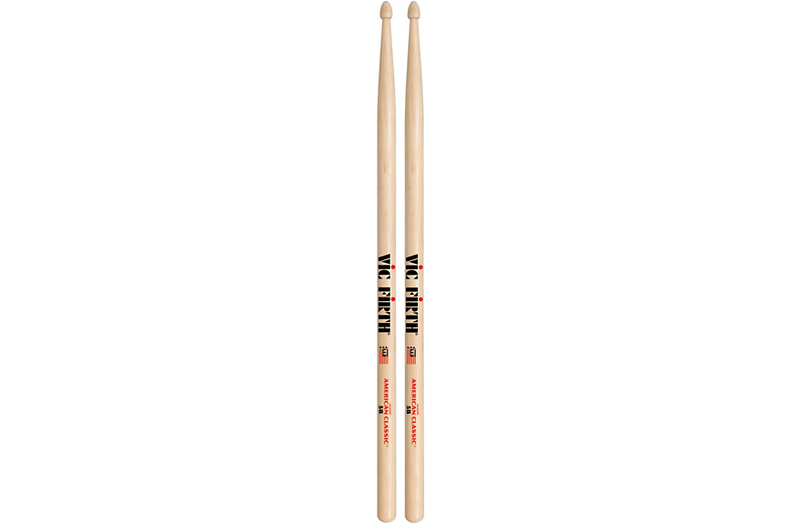 Vic Firth American Classic Hickory Drumsticks Wood 5B