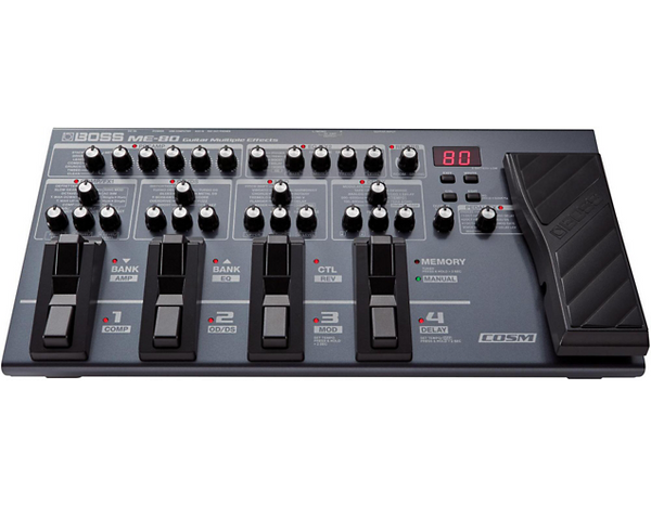 Boss ME-80 Guitar Multi-Effects Pedal