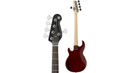 Yamaha BB235 5-String Electric Bass Red White Pickguard