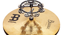 Meinl Hi-Hat Tambourine Black 1 Row