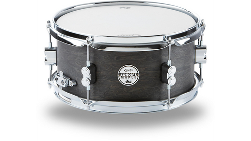 PDP by DW Black Wax Maple Snare Drum 12x6 Inch