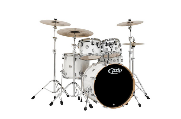 PDP by DW Concept Maple 5-Piece Shell Pack Pearlescent White