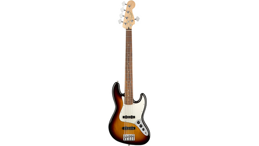 Fender Player Jazz Bass V Pau Ferro Fingerboard 3-Color Sunburst
