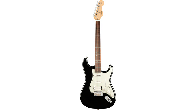 Fender Player Stratocaster HSS Pau Ferro Fingerboard Electric Guitar Black