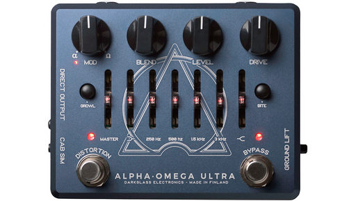 Darkglass Alpha Omega Ultra Bass Preamp Pedal