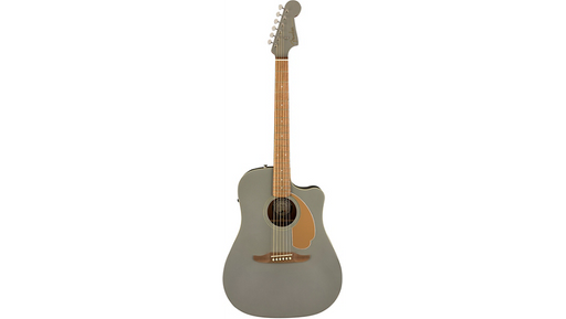 Fender California Redondo Player Acoustic-Electric Guitar Slate Satin