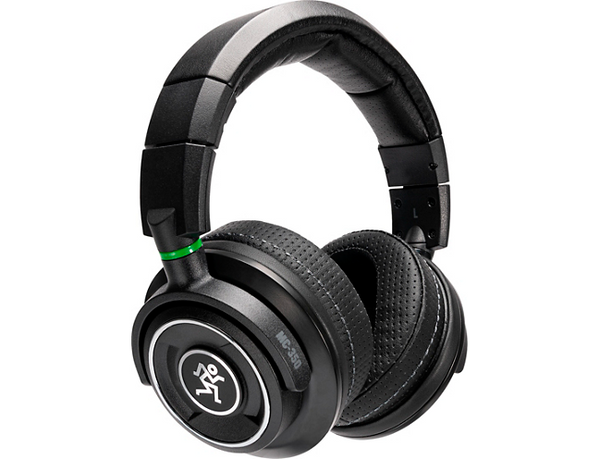 Mackie MC-350 Professional Closed-Back Headphones Black