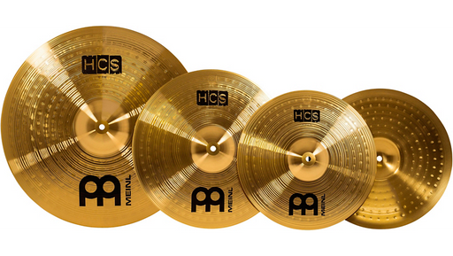 Meinl HCS Complete Cymbal Set-Up FREE MCM-141620 CYMBAL MUTE SET