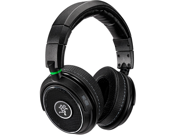 Mackie MC-450 Professional Open-Back Headphones Black