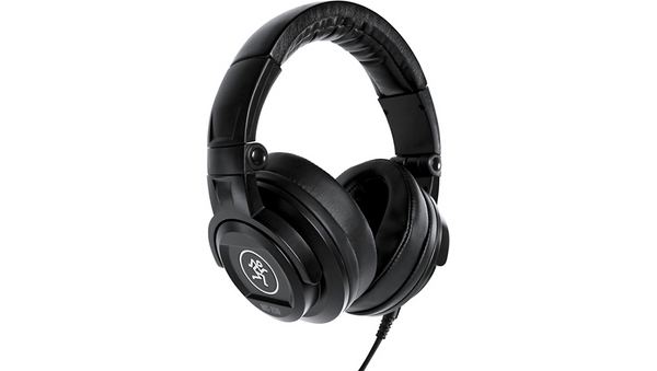 Mackie MC-250 Professional Closed-Back Headphones Black