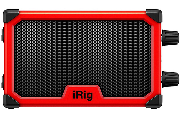 IK Multimedia iRig Nano 3W 1x3 Micro Combo Guitar Amplifier Red