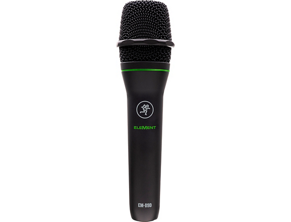 Mackie Element Series EM89D Dynamic Vocal Microphone Black