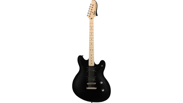 Squier Contemporary Active Starcaster Maple Fingerboard Flat Black
